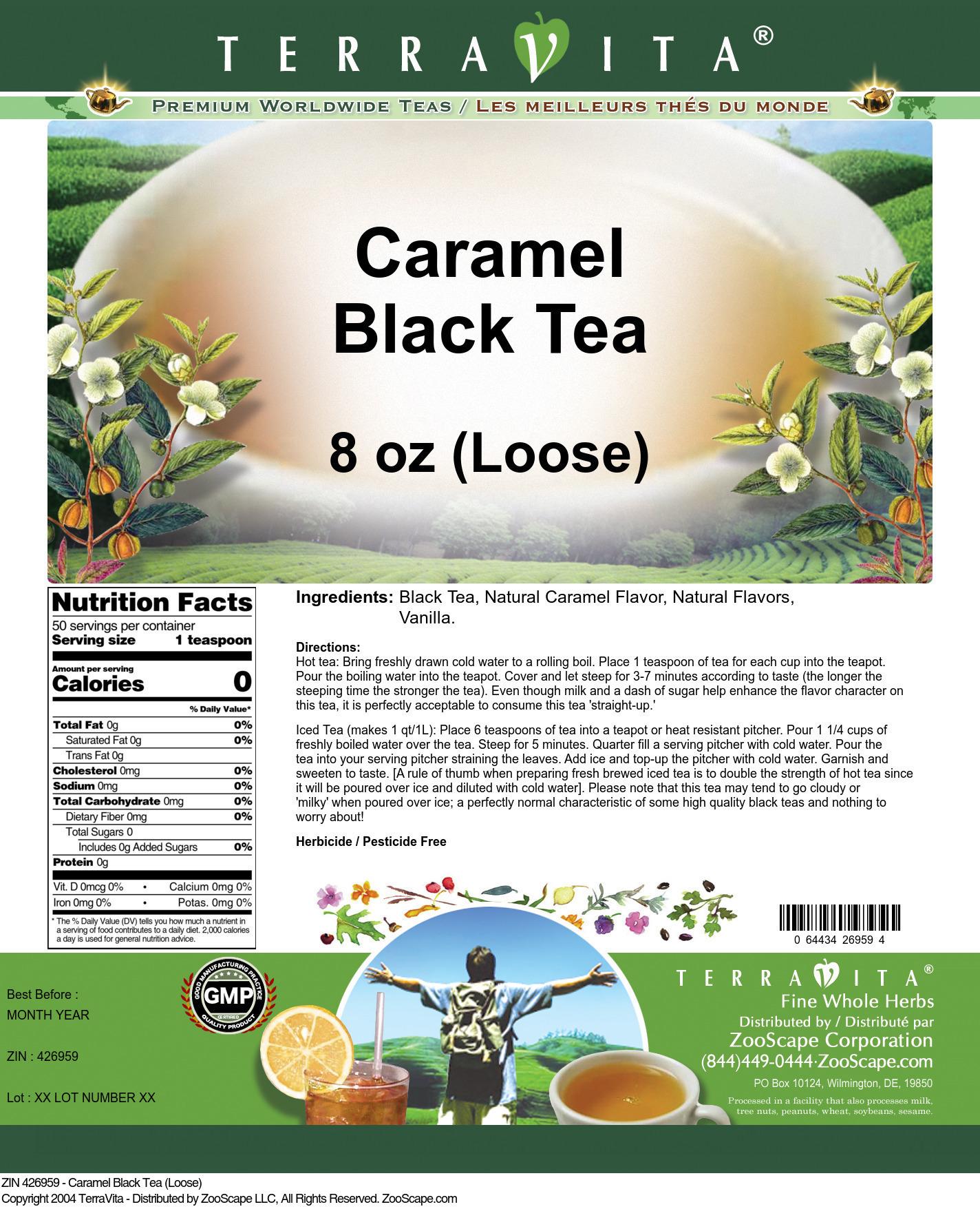 Caramel Black Tea (Loose)