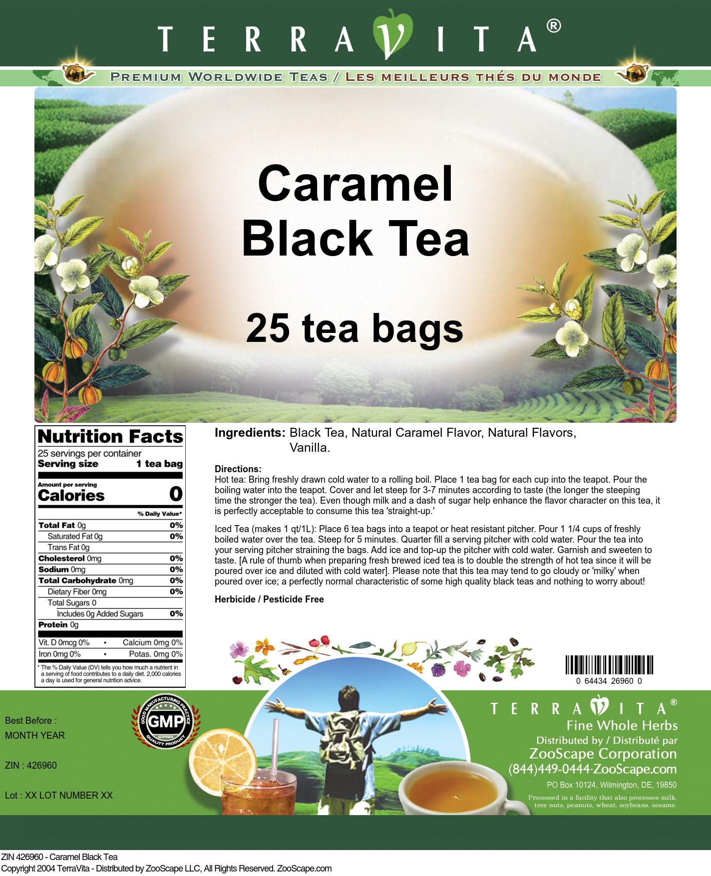 Caramel Black Tea
