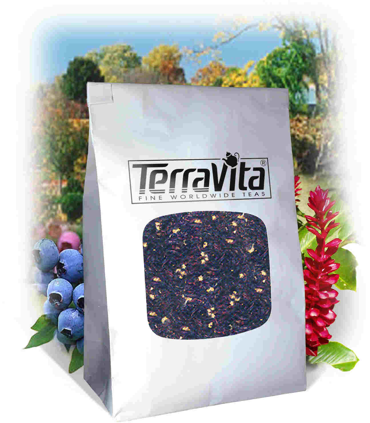 Papaya Flavoured Black Tea (Loose)