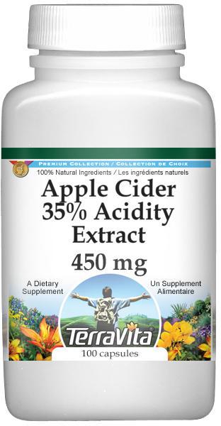 Apple Cider 35% Acidity Extract - 450 mg