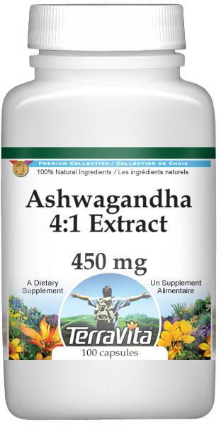 Ashwagandha 4:1 Extract - 450 mg