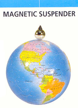 Puzzle Sphere - Magnetic Suspender - Additional View