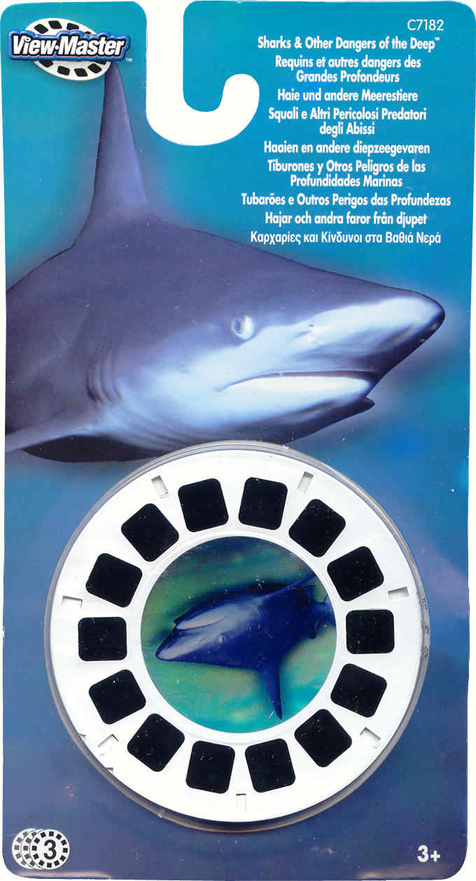 3D Reel Cards - Dangers of the Deep (Set of Three)