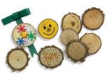Wood Discs - Package of 12