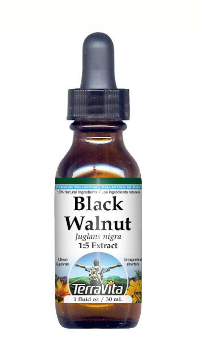 Black Walnut Leaf - Glycerite Liquid Extract (1:5) - No Flavor