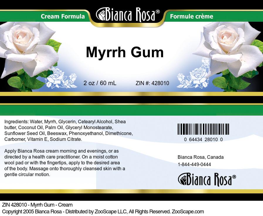 Myrrh Gum - Cream