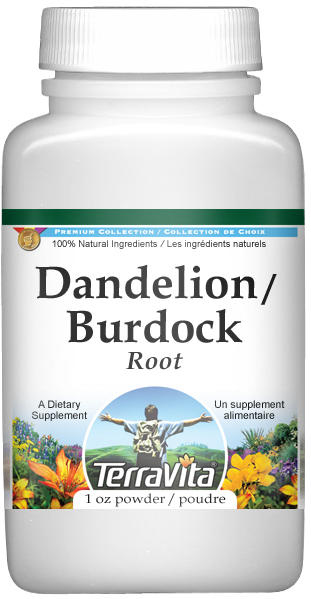 Dandelion Root and Burdock Root Powder
