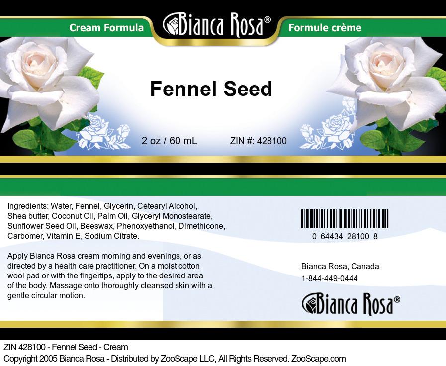 Fennel Seed - Cream