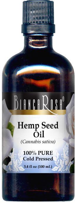 Hemp Seed Oil - 100% Pure, Cold Pressed