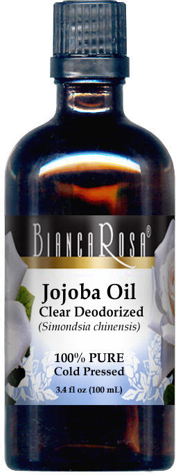 Jojoba Oil, Clear Deodorized - 100% Pure, Cold Pressed
