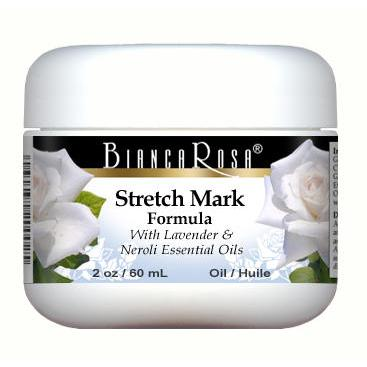 Stretch Mark Oil Enriched with Lavender and Neroli - Label