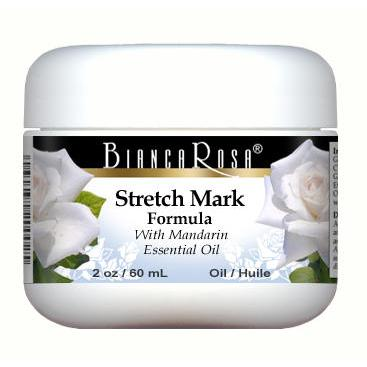 Stretch Mark Oil Enriched with Mandarin and Rosehip - Label