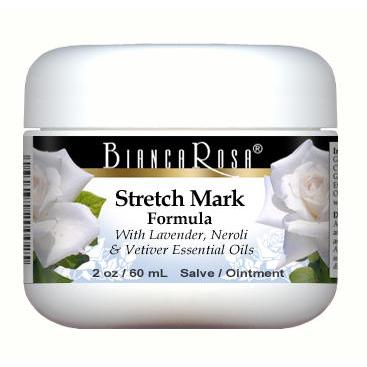 Stretch Mark - Salve Ointment Enriched with Lavender, Neroli and Vetiver - Label