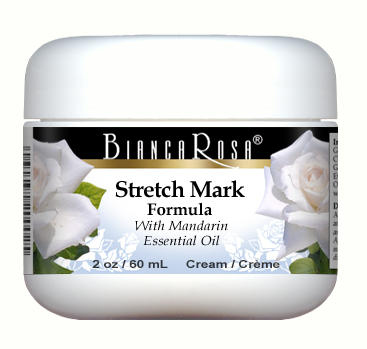 Stretch Mark Cream Enriched with Mandarin and Rosehip