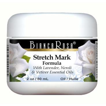 Stretch Mark Oil Enriched with Lavender, Neroli and Vetiver - Label