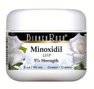 Minoxidil USP (5%) Cream - Extra Strength - Not available in Canada
