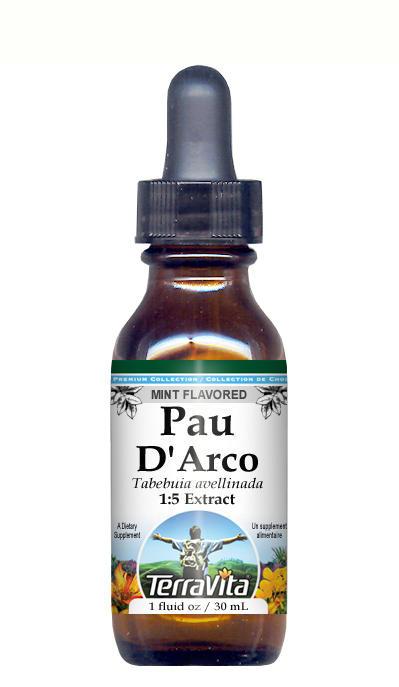 Pau D'Arco (Ipe Roxo) - Glycerite Liquid Extract (1:5)