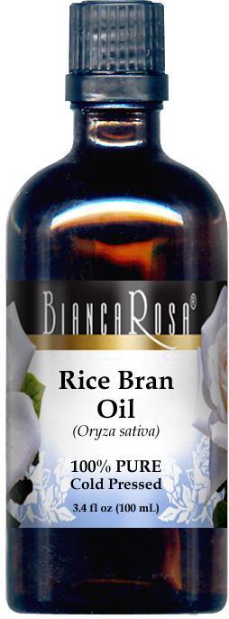 Rice Bran Oil - 100% Pure, Cold Pressed