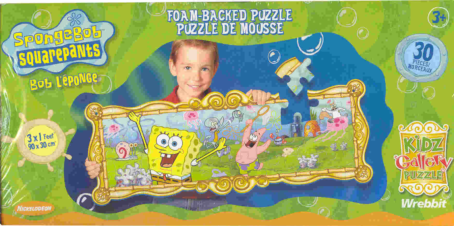 SpongeBob SquarePants and Friends Foam-Backed Puzzle - Additional View