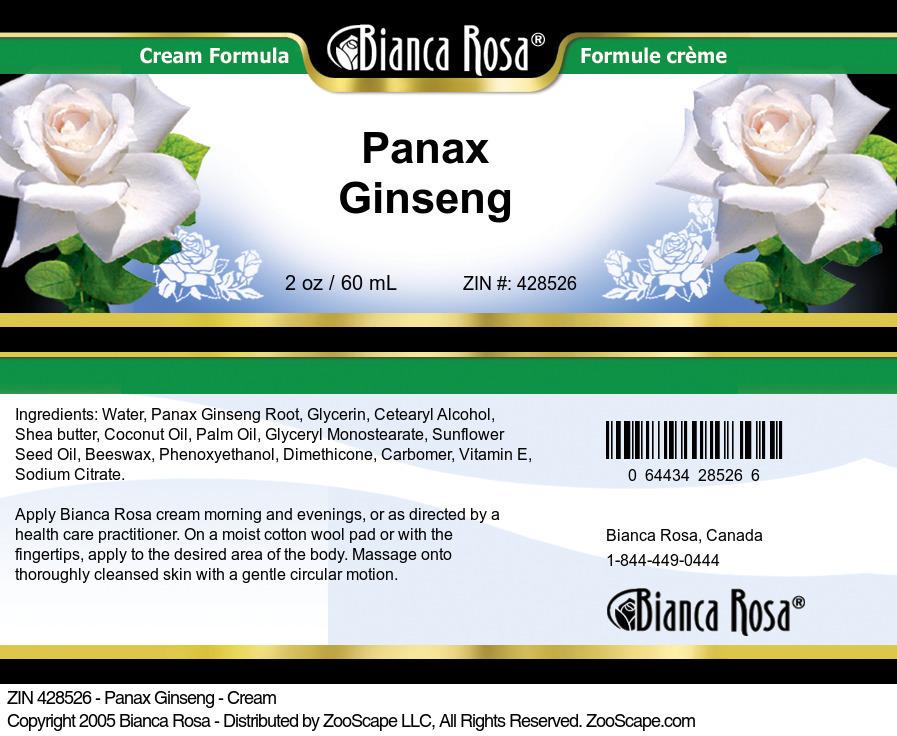 Panax Ginseng - Cream