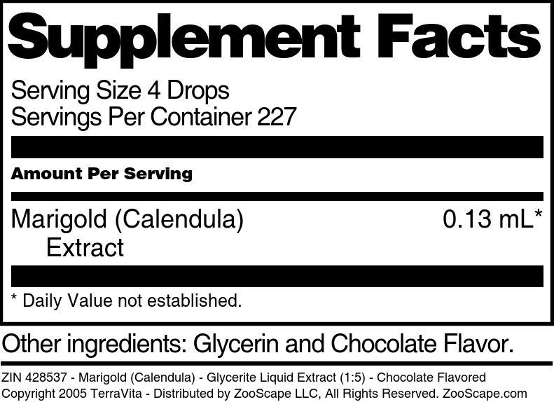 Marigold (Calendula) - Glycerite Liquid Extract (1:5)