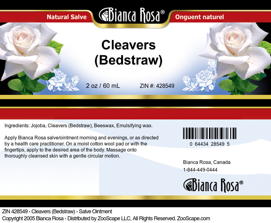 Cleavers (Bedstraw) - Salve Ointment