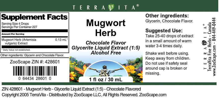 Mugwort Herb <BR>(Artemisia vulgaris)