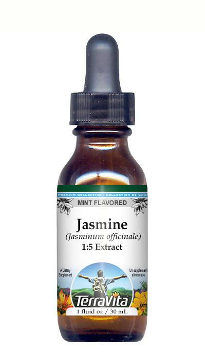 Jasmine - Glycerite Liquid Extract (1:5) - Mint Flavored