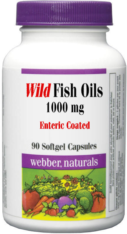 Wild Fish Oil (180:120) - 1000 mg Enteric-Coated