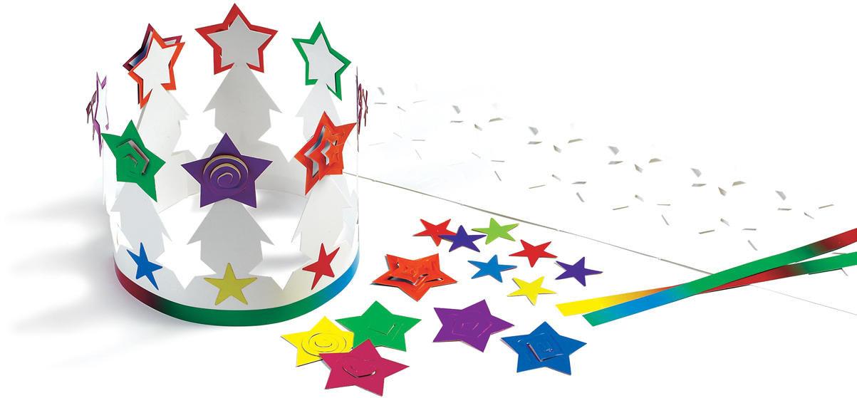 Super Star Crown Kit - Package of 12
