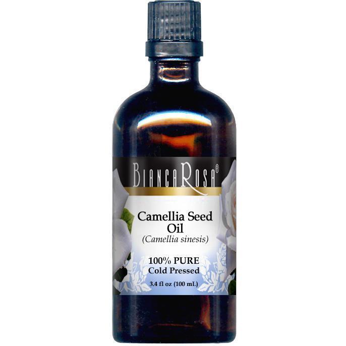 Camellia Seed Oil - 100% Pure, Cold Pressed