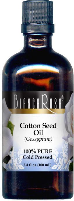Cotton Seed Oil - 100% Pure, Cold Pressed
