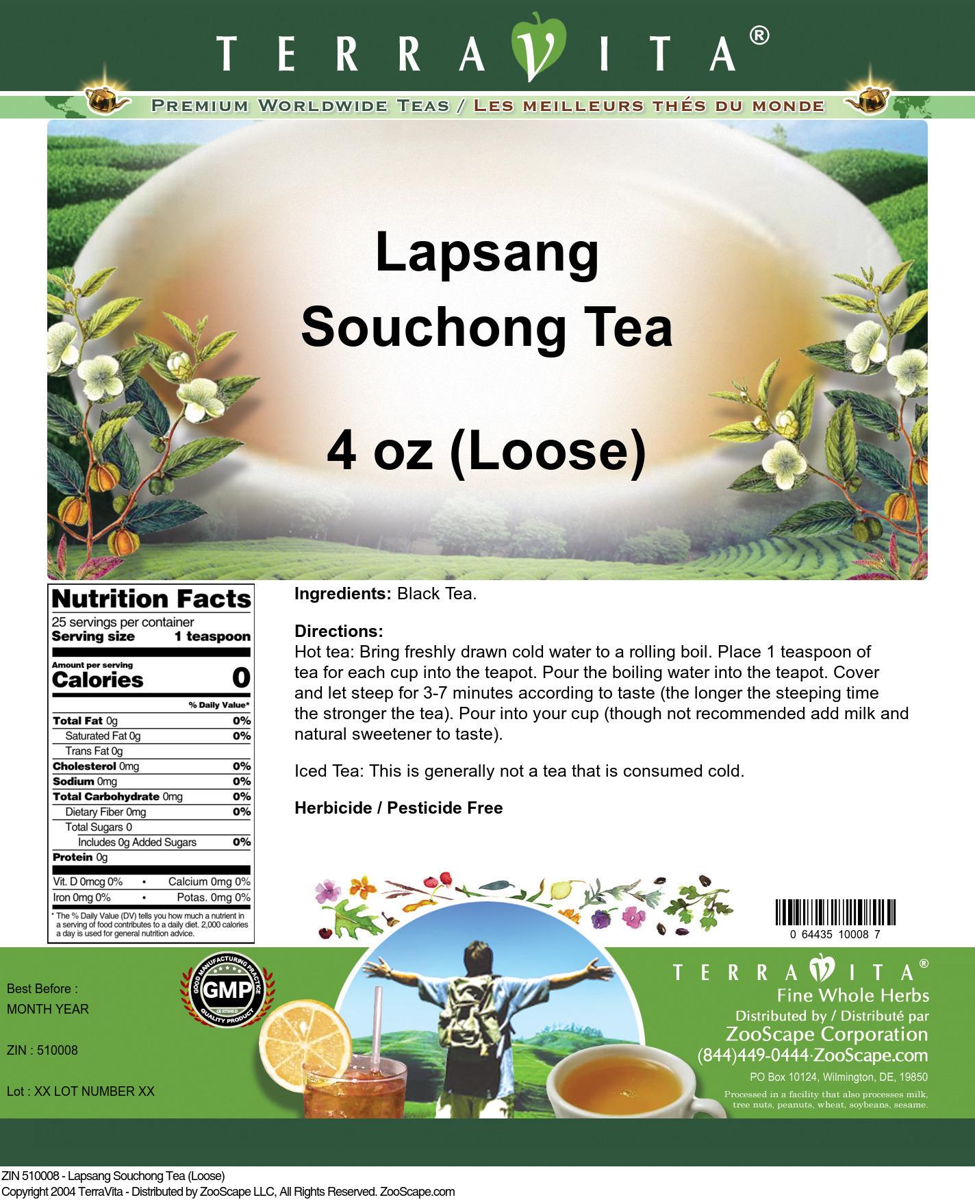 Lapsang Souchong Tea (Loose)