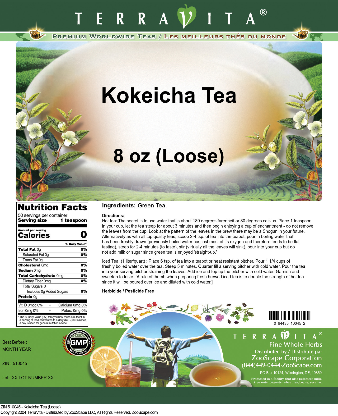 Kokeicha Tea (Loose)