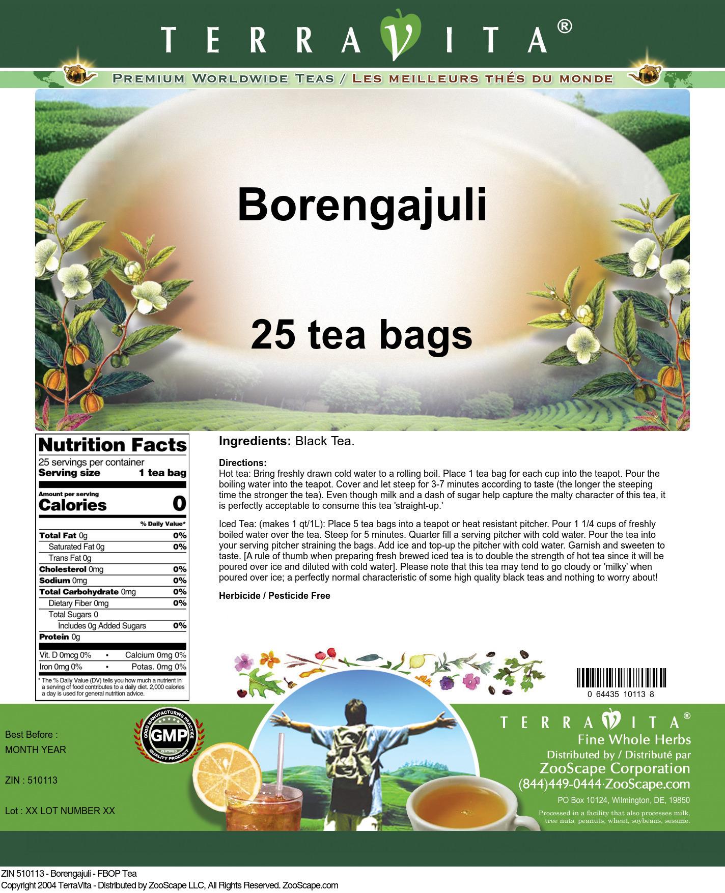 Borengajuli - FBOP Tea