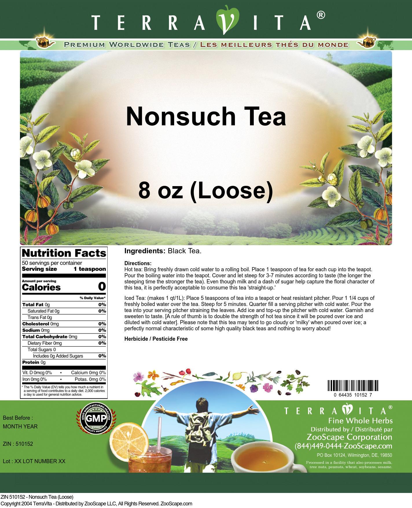 Nonsuch Tea (Loose)