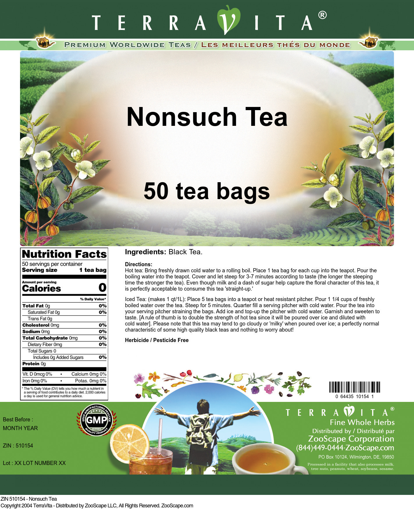 Nonsuch Tea