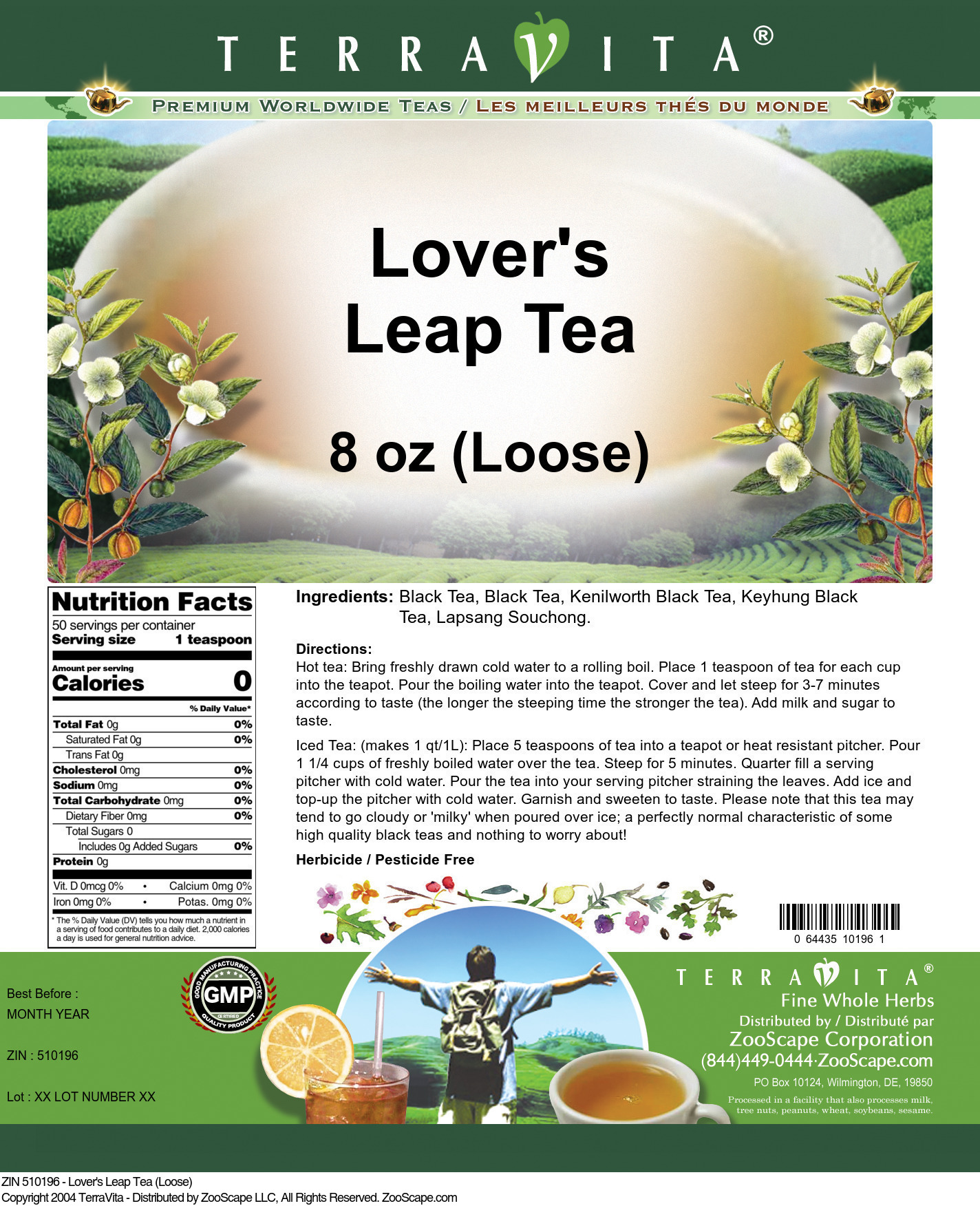 Lover's Leap Tea (Loose)