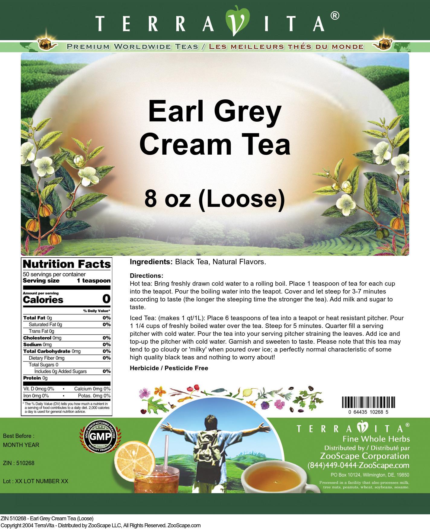 Earl Grey Cream Tea (Loose)