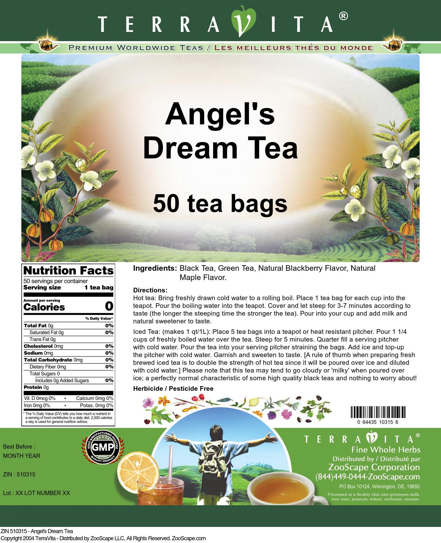 Angel's Dream Tea