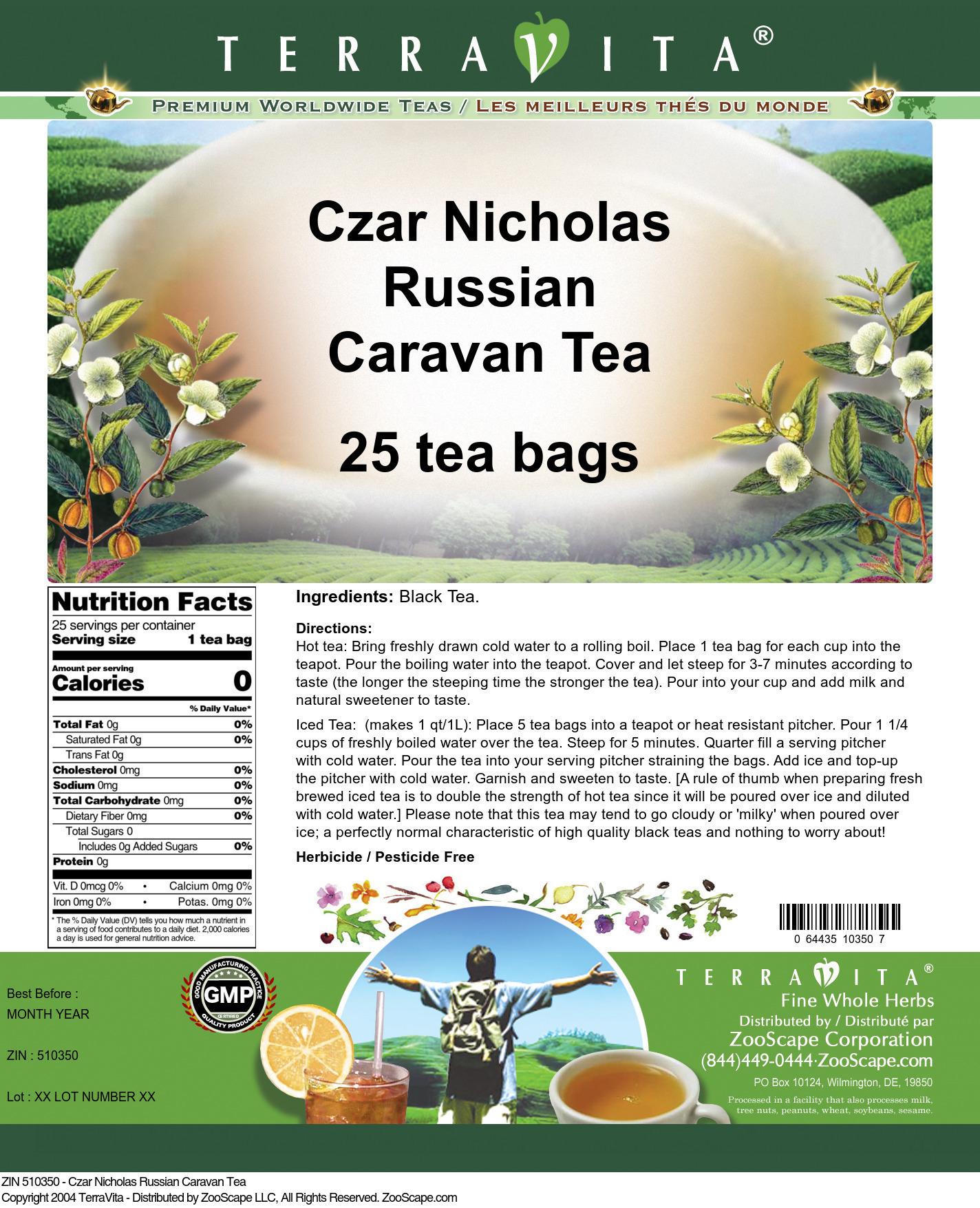 Czar Nicholas Russian Caravan Tea