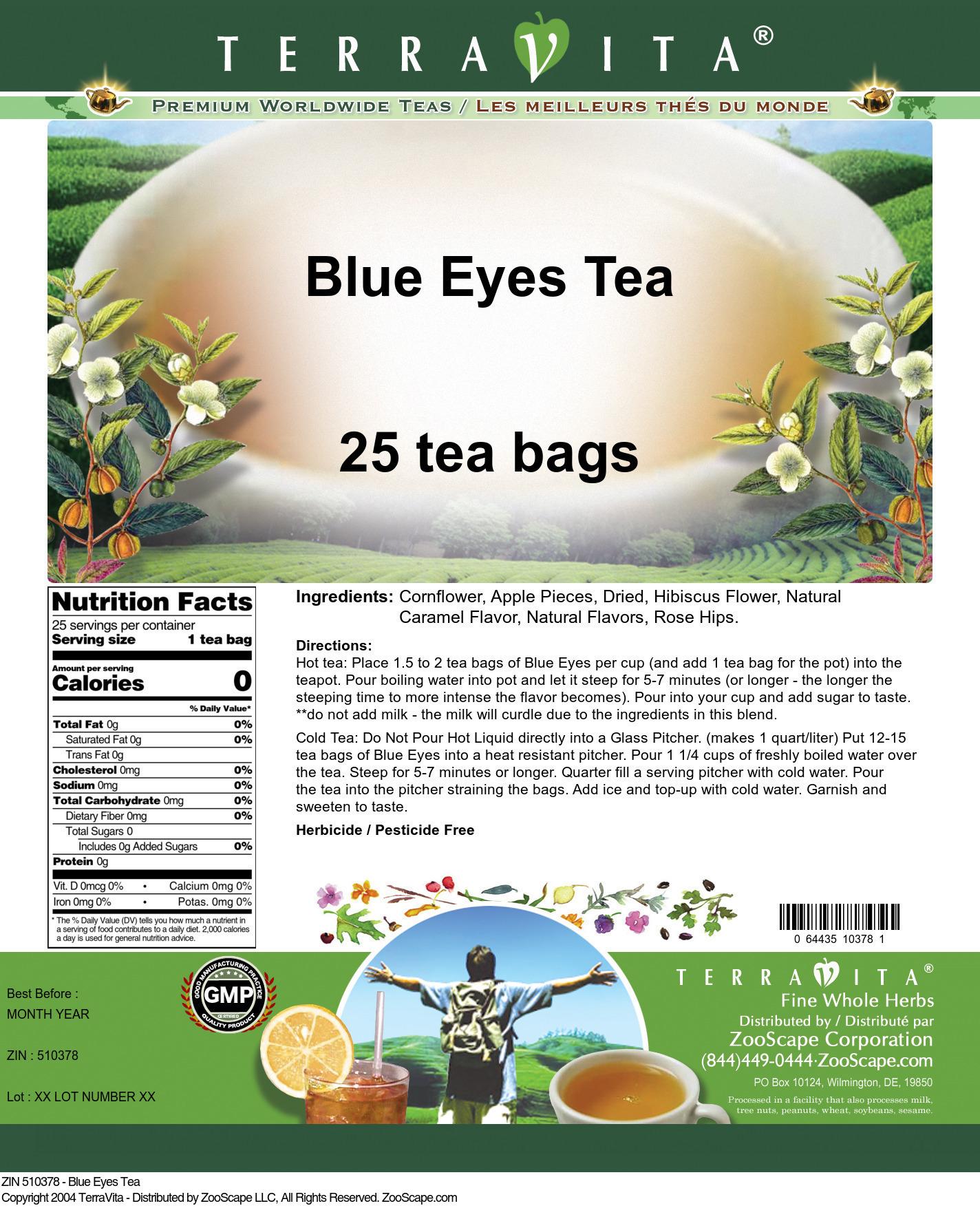 Blue Eyes Tea
