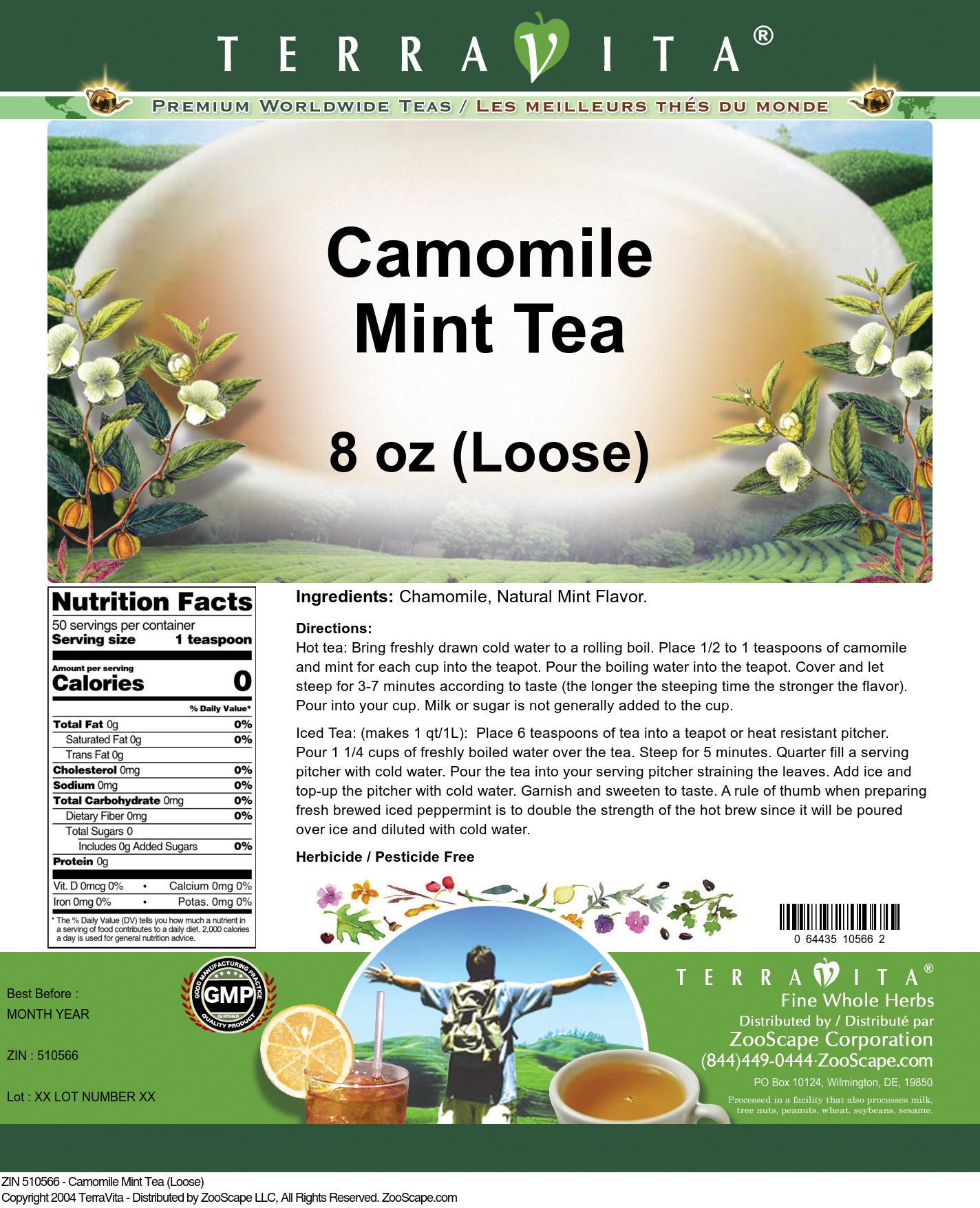 Camomile Mint