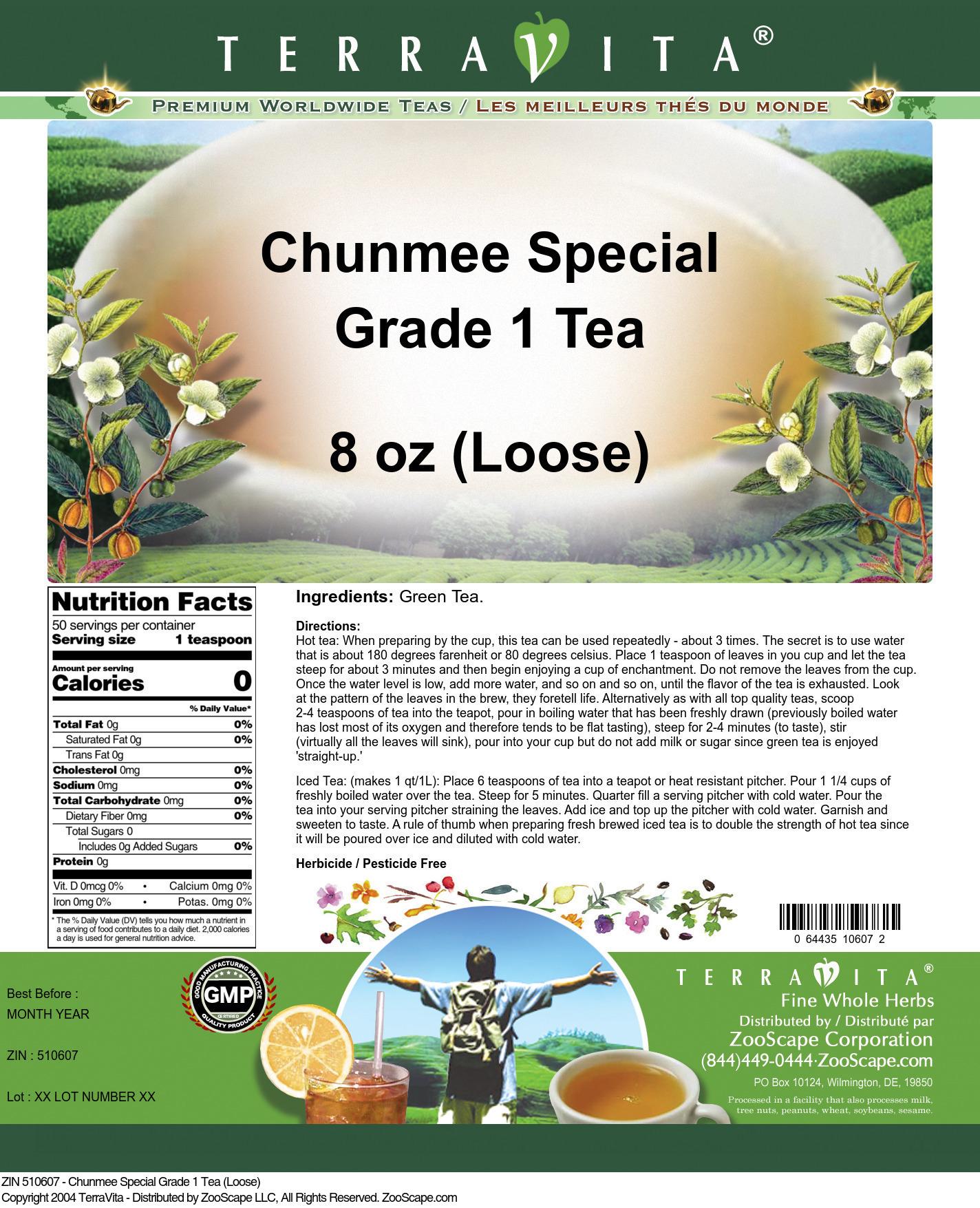 Chunmee Special Grade 1
