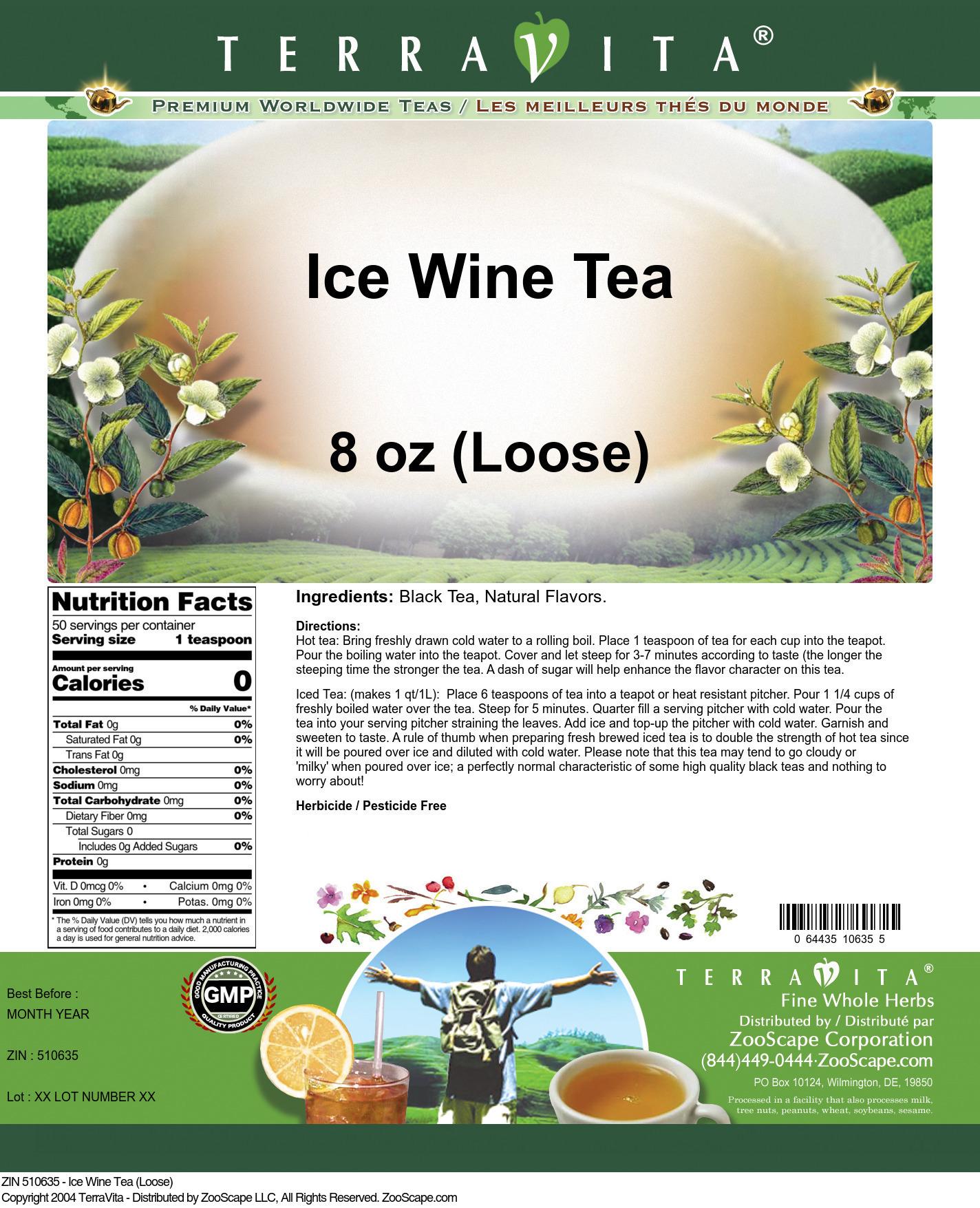 Ice Wine Tea