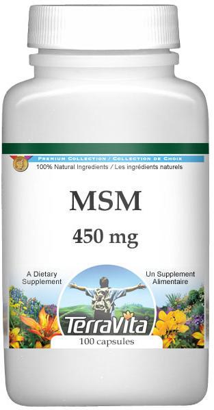 MSM - 450 mg