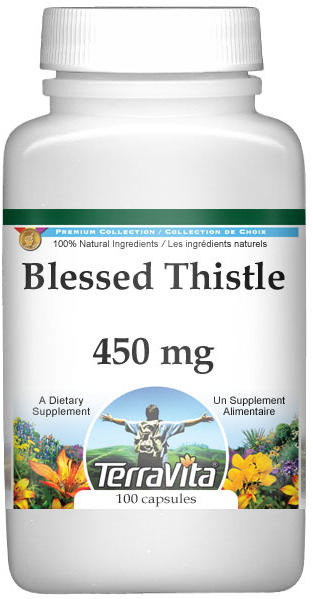 Blessed Thistle - 450 mg