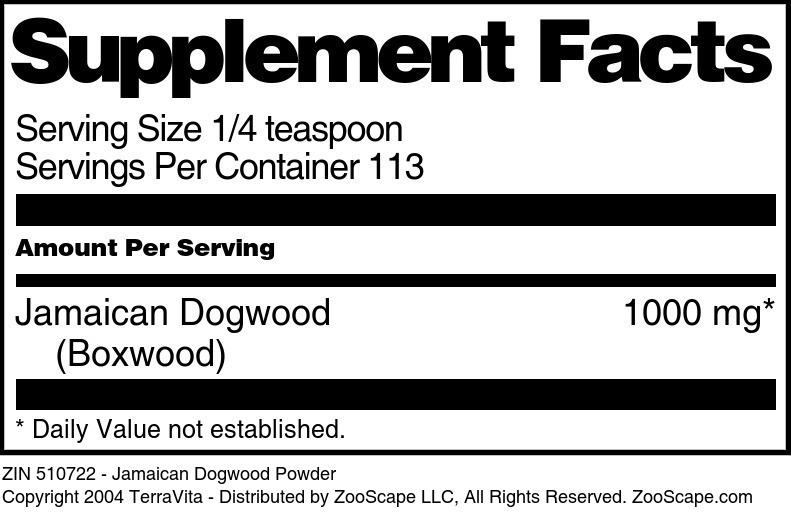 Jamaican Dogwood <BR>(Boxwood)