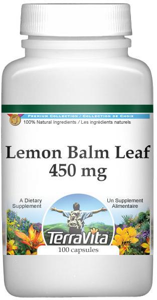 Lemon Balm Leaf - 450 mg