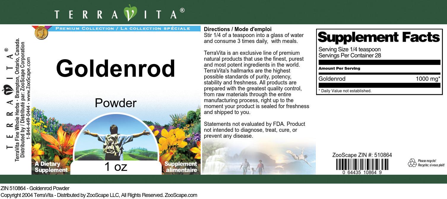 Goldenrod Powder